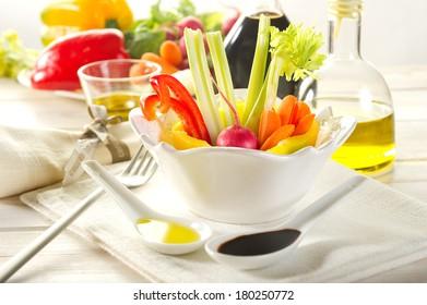 pinzimonio vegetables
