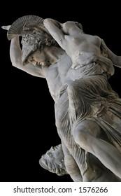 Pio Fedi's Rape of Polyxena - a neoclassic's masterpiece. Florence,Tuscany, Italy