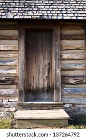 Pioneer Porch. Port Sanilac Historical Village. Port Sanilac, Michigan.