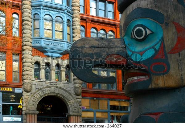 Pioneer's Totem - Seattle
