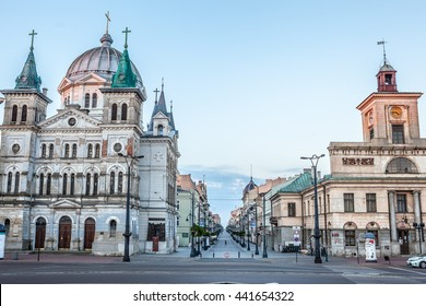 Piotrkowska Street Lodz, Poland, Polska