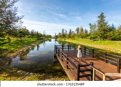 Pipa Lake in Taitung forest park, Taiwan