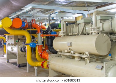 Pipe in the factory