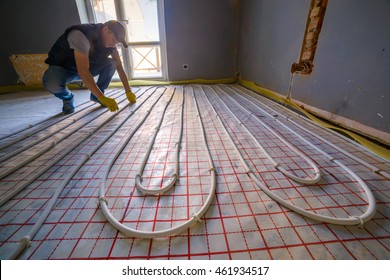 pipe fitter installing system of heating