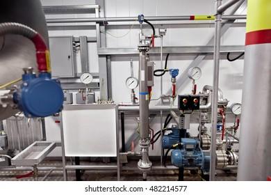 Pipe line indoor and liquid density transducer