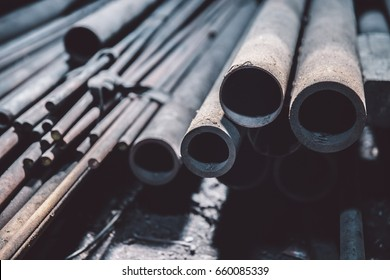 pipe metal for use industry for work with steel