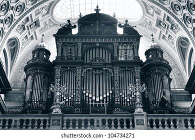 Pipe organ of St. Stephen's Basilica, Budapest, Hungary
