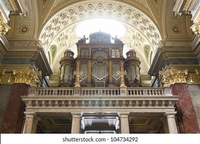 Pipe organ of St. Stephen's Basilica, Budapest, Hungary