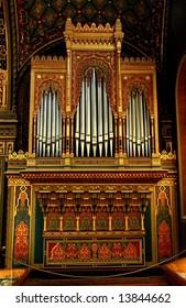 Pipe Organs of Spanish Synagogue in Jewish Quarter  Prague