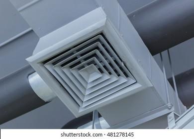 Pipeline air in large buildings.