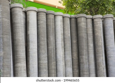 Pipes cement