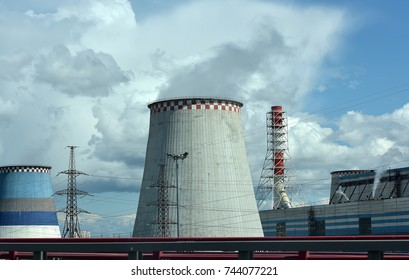 Pipes Heat Power Station