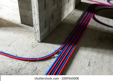 apartment renovation modern condominium under construction stock rh shutterstock com Old House Wiring House Wiring Color Code