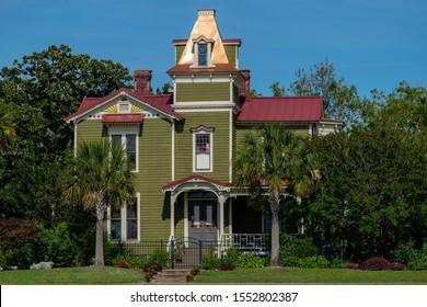Pippi Longstocking house in Old Town Fernandina.