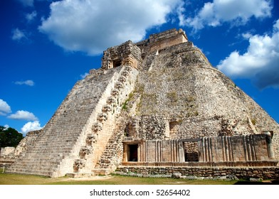 Piramide del Adivino, Uxmal, Yucatan, Mexico