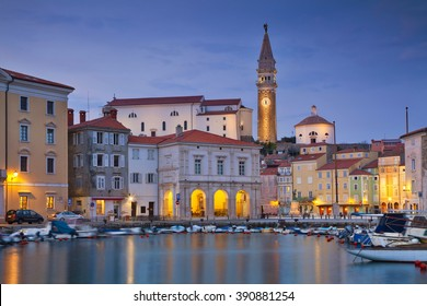 Piran. Piran is one of the most beautiful cities in the Mediterranean, Slovenia.