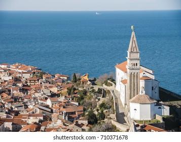 Piran, Slovenia, Church of saint George