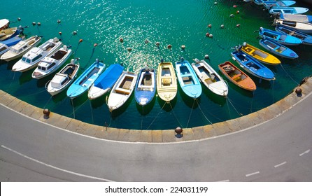 Piran Slovenia- Colorful mediterranean old port