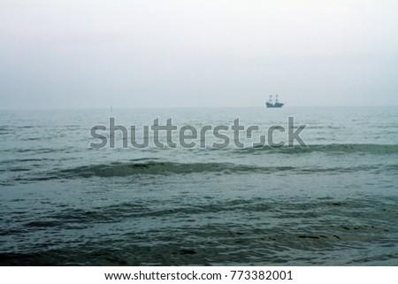 Pirate Schooner Sea Stock Photo (Edit Now) 773382001 - Shutterstock