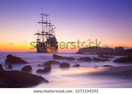 Pirate ship at the