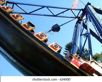 Pirate ship ride on the move