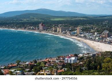 Piriapolis resort town in the Coast of Uruguay