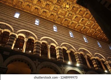 Pisa Cathedral. Battistero. Italy.