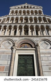 Pisa, cathedral Santa Maria Assunta in Miracles square, Tuscany, Italy - Shutterstock ID 241615678