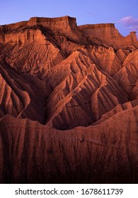 The Piskerra mountain in the Bardenas Reales de Navarra are a symbol of the geomorphology of the place