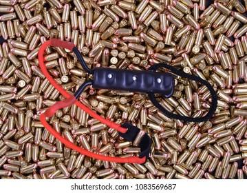 Pistol Ammo with Slingshot