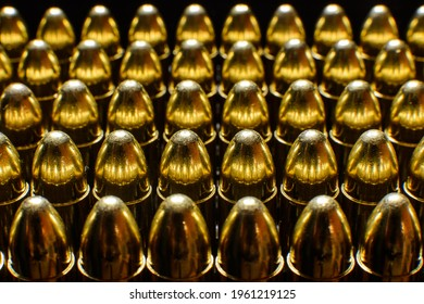 Pistol ammunition, 9mm Luger, cartridge, full metal jacket