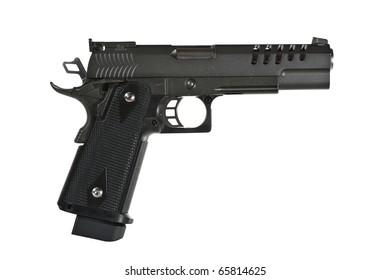Pistol, isolated, no tm