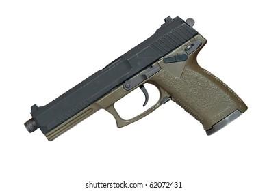 Pistol, no tm, isolated.