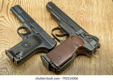 pistols, self-defense weapons