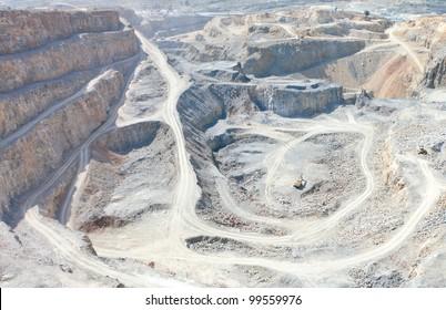 pit open mine