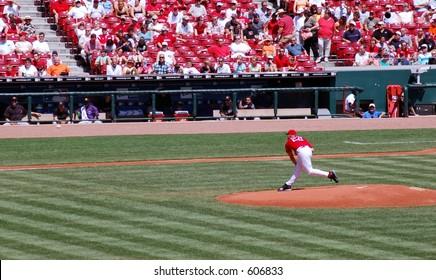 A pitcher