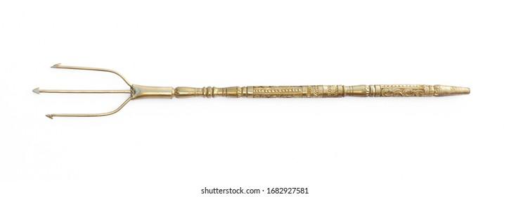 pitchfork of Poseidon, Neptune's golden trident