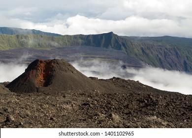 Piton de la Soufrière on la Réunion.
