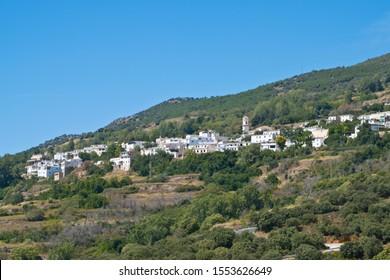 Pitres in Alpujarra. Spain. Europe.