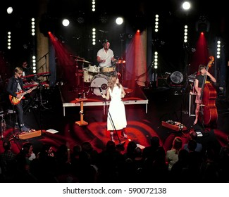 PITTSBURGH - Lake Street Dive performs in Pittsburgh, Friday Feb. 24 at Mr. Smalls Theatre