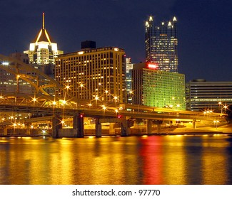 Pittsburgh at Night
