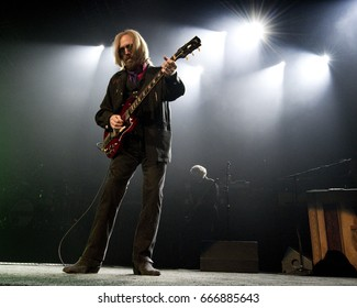 PITTSBURGH, PA June 09 - Tom Petty & The Heartbreakers perform in Pittsburgh, Friday, June 9 at PPG Paints Arena.
