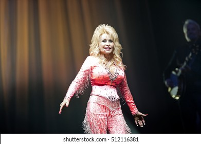 PITTSBURGH, PA - June 28, 2016 Dolly Parton performs in Pittsburgh Tuesday, June 28 at Consol Energy Center. Parton is currently, supporting the release of 'Pure & Simple with Dolly's Biggest Hits.'