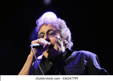 "Pittsburgh, PA - March 16, 2016 : Roger Daltry opened ""The Who Hits 50"" tour in Pittsburgh with 'Who Are You' Wednesday, March 16 at Consol Energy Center."