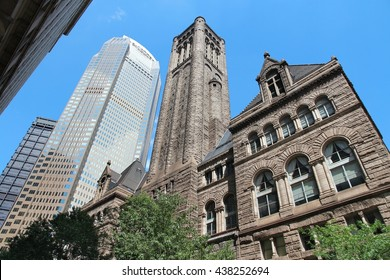 Pittsburgh, Pennsylvania - city in the United States. Famous Allegheny county courthouse.