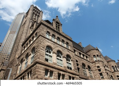 Pittsburgh, Pennsylvania - city in the United States. Allegheny county courthouse.