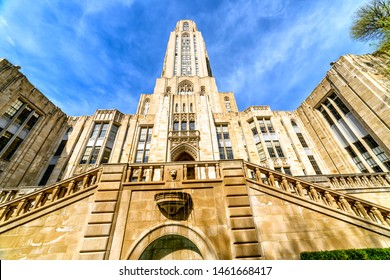 Pittsburgh, Pennsylvania, USA, Cathedral of Learning, University of Pittsburgh, April 24, 2016