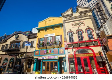 PITTSBURGH, USA - FEB 24: Market Square in Pittsburgh, Pennsylvania on February 24, 2015. This Market square business has been in operation since 1919.