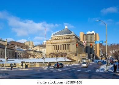 PITTSBURGH, USA - FEB 27: University of Pittsburgh USA on February 27, 2015
