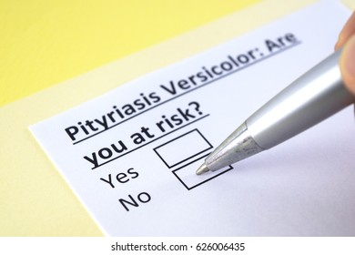 Pityriasis versicolor: Are you at risk ? yes or no
